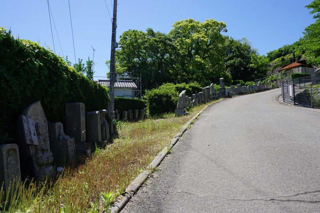 香西寺 写し霊場入口