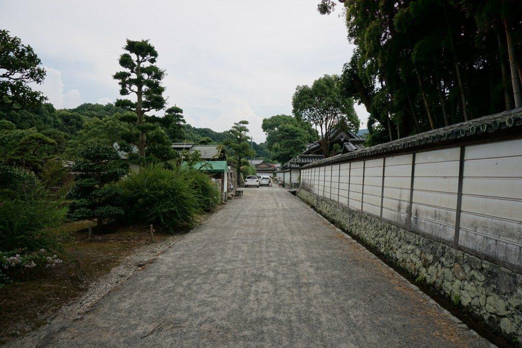 萩原寺 土塀
