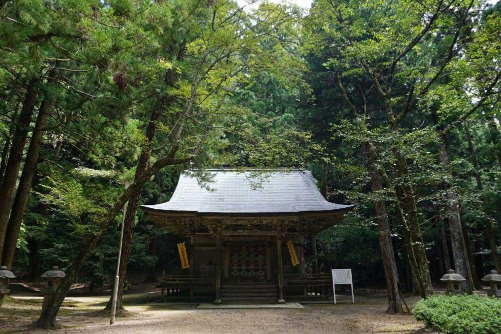箸蔵寺 観音堂