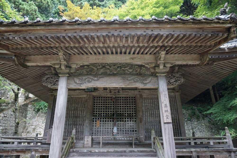 箸蔵寺 薬師堂