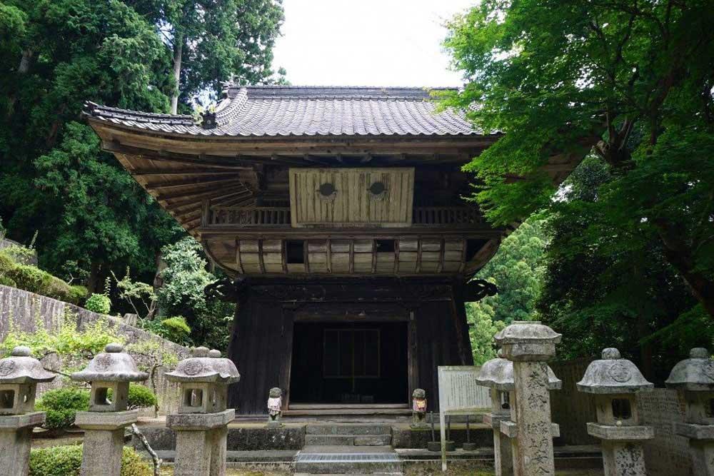 箸蔵寺 鐘楼堂