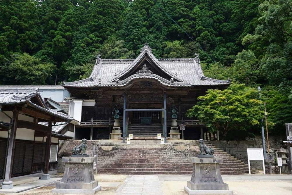 箸蔵寺 護摩殿