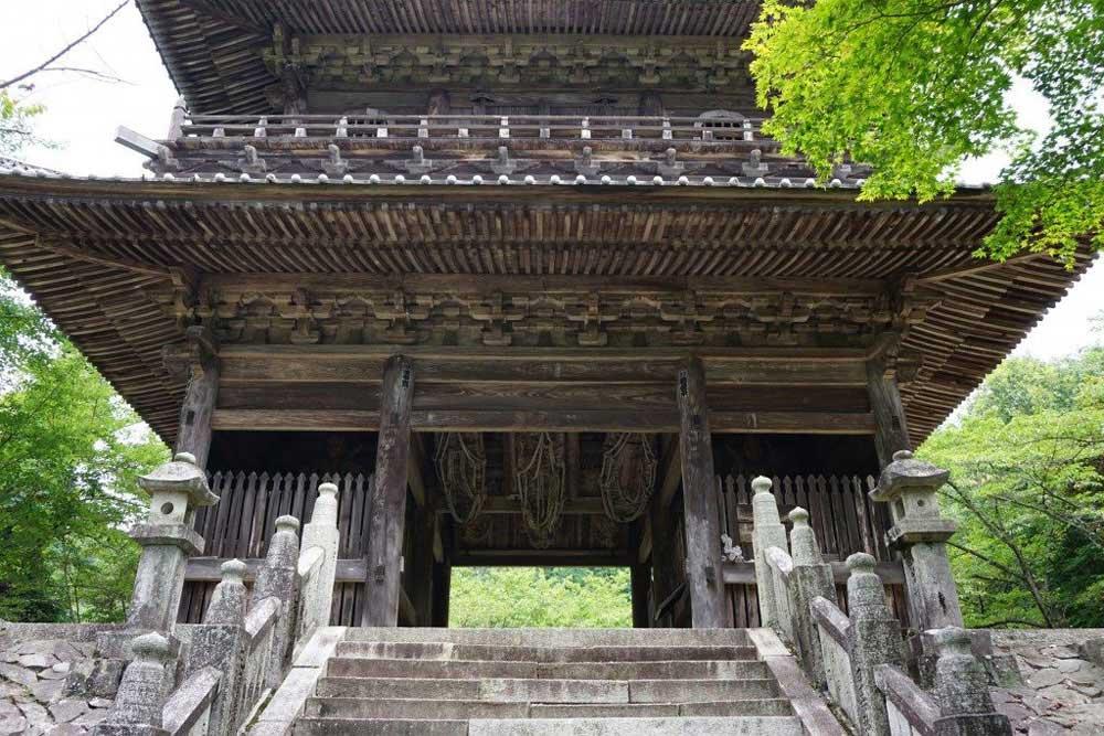 箸蔵寺 仁王門