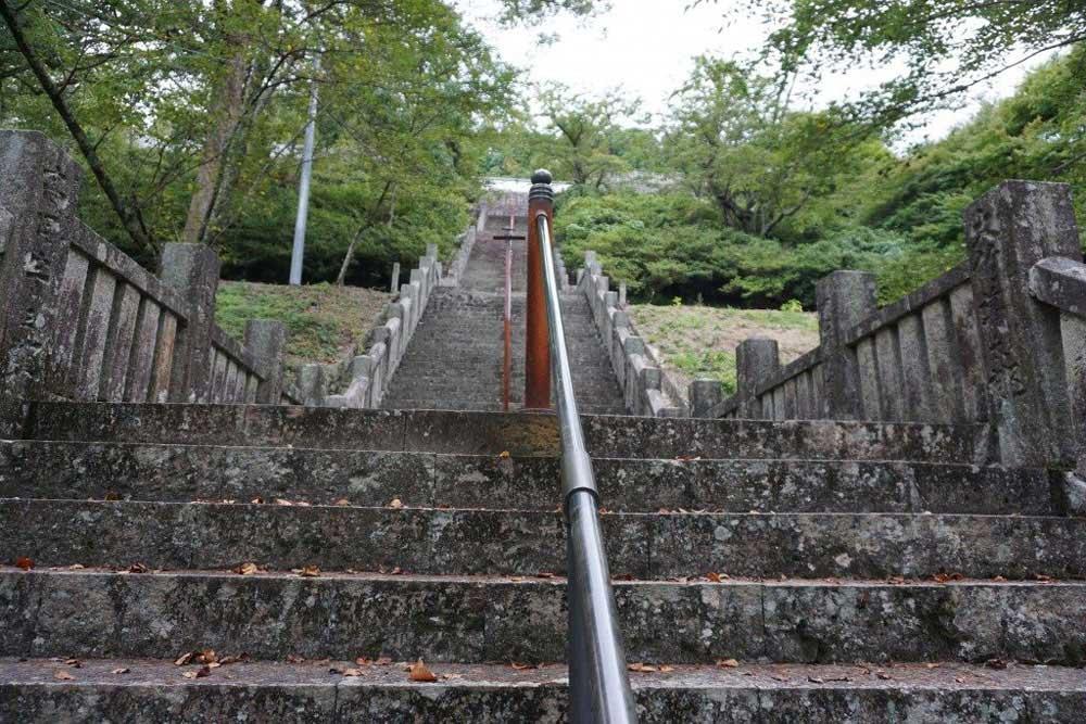箸蔵寺 本坊前石段