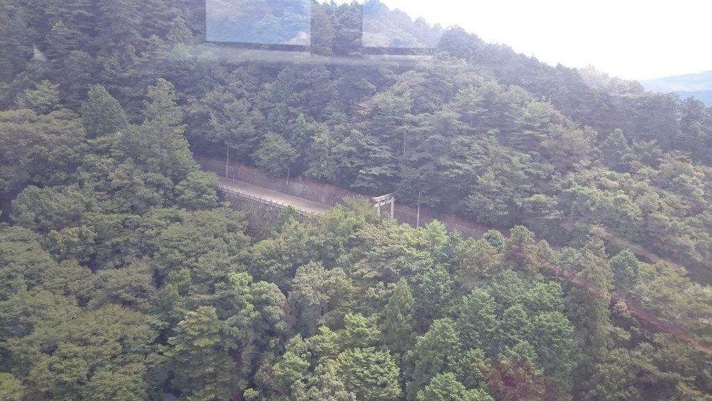 箸蔵山ロープウェイ 参道
