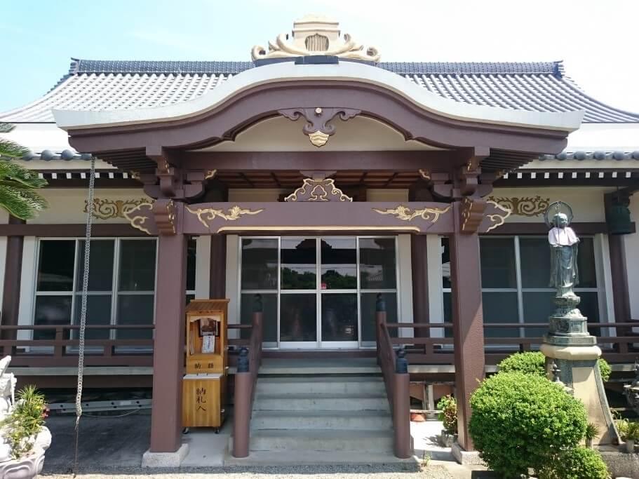 前札所十輪寺 本堂