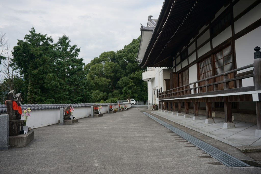 龍光院 本堂横 ミニ八十八ヶ所霊場
