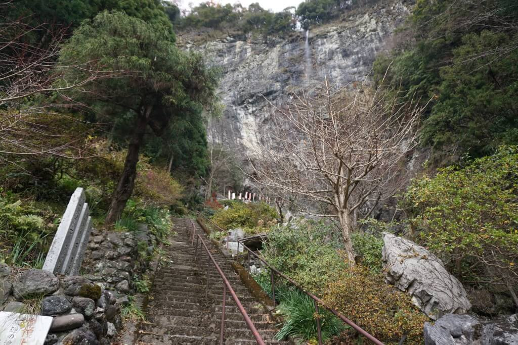 灌頂ヶ瀧 階段