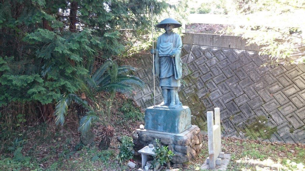 文殊院境外霊場 八窪 大師像