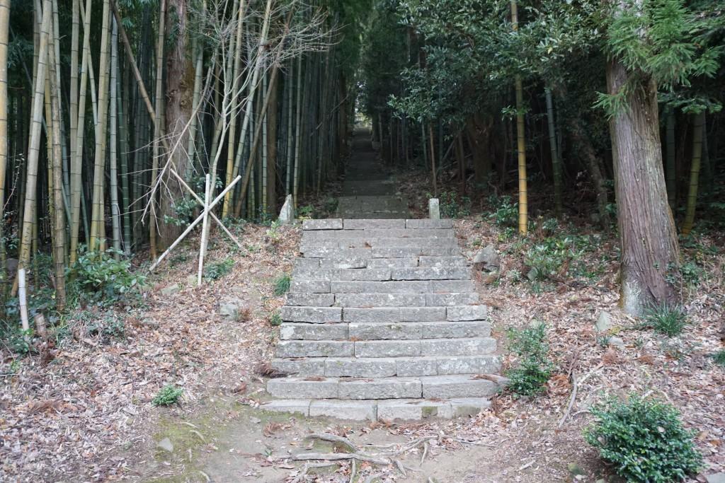 大山寺 石段参道