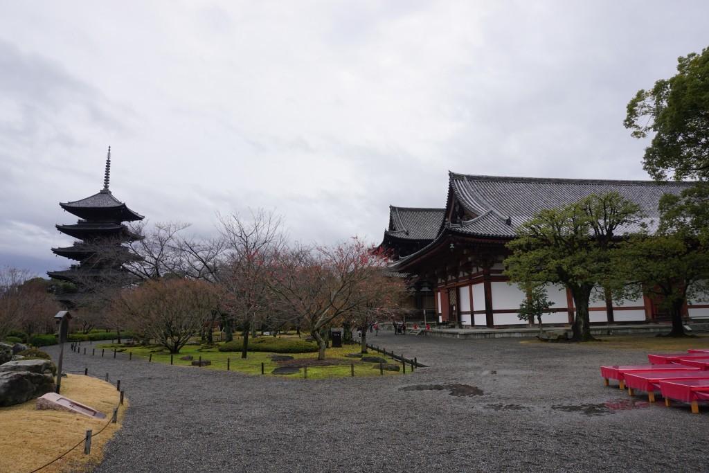 東寺 金堂と講堂