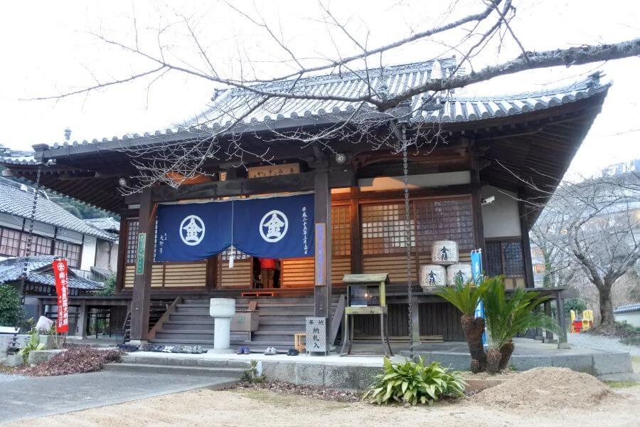 象頭山松尾寺 本堂
