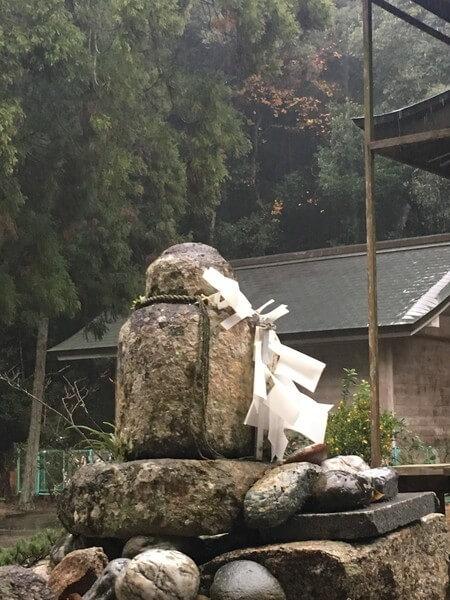 水主神社 石塔