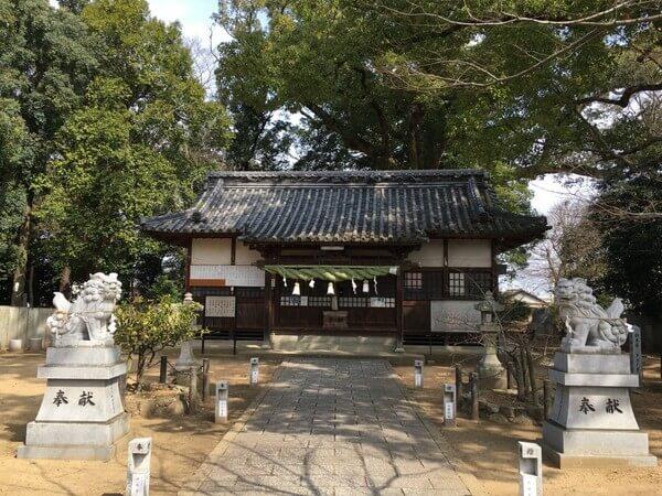 仏生山 船山神社本殿