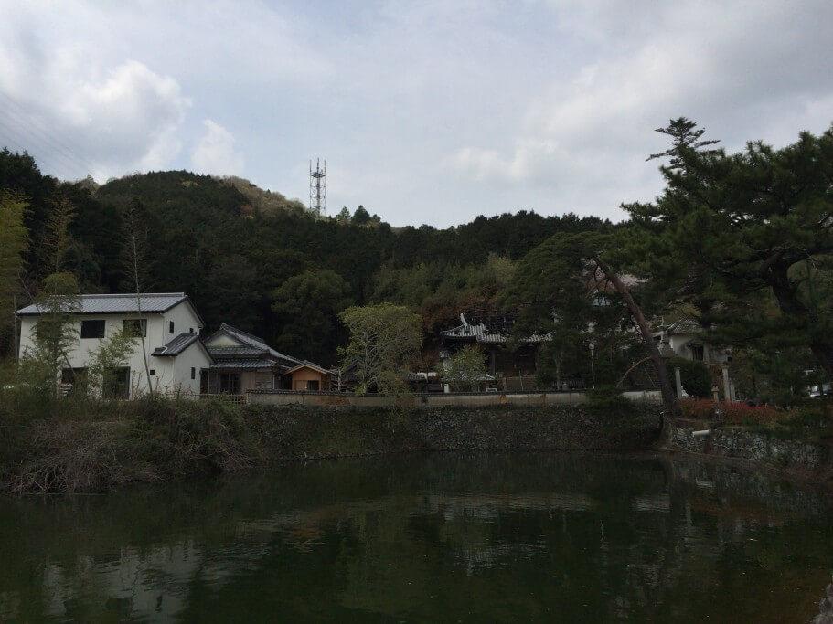別格2番童学寺 本堂 火災跡