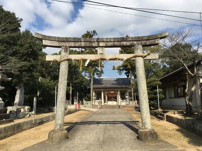 天野八幡神社 鳥居