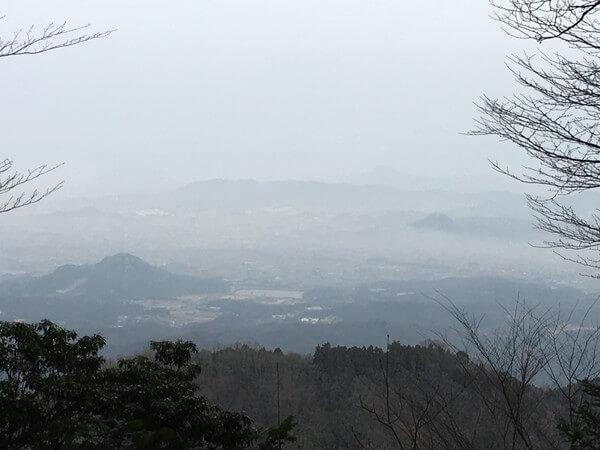 高仙山からの眺望