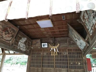 和邇賀波神社 社殿