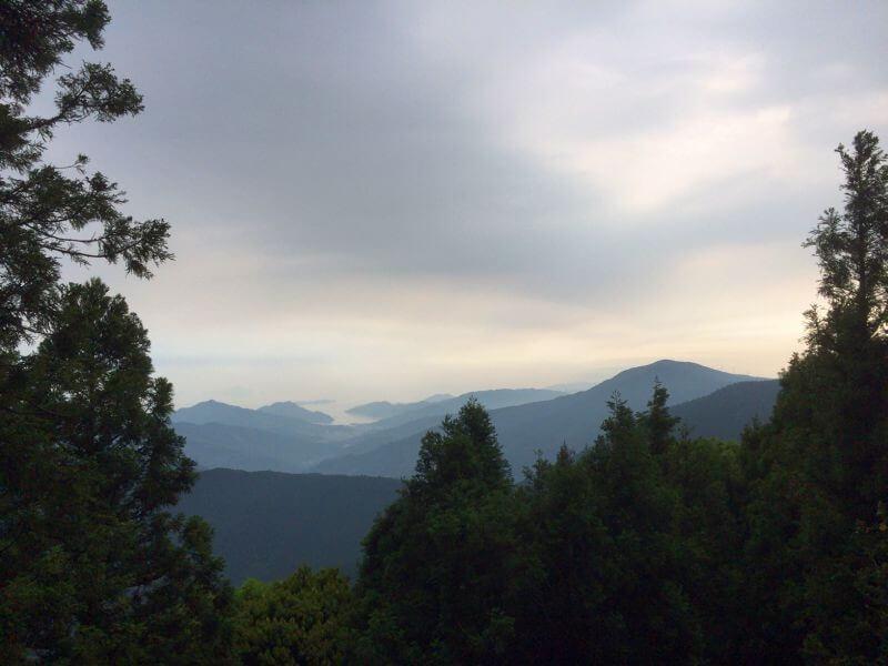 出石寺 本堂からの景色