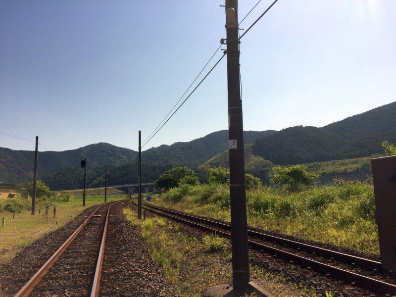 JR土讃線・影野駅 土佐久礼方向