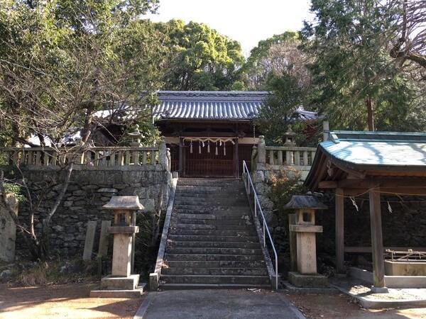 血の宮(高家神社)社殿