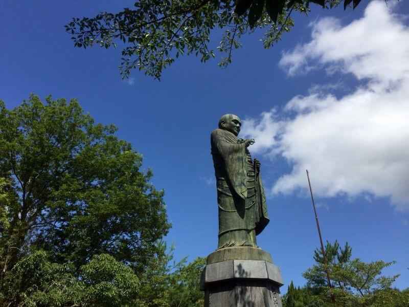 神野寺 大師像横