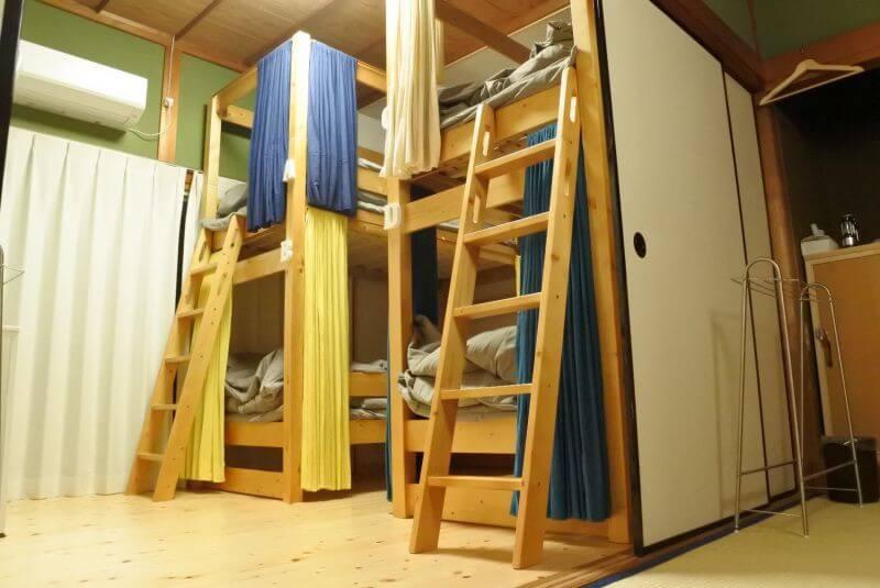 ゲストハウス40010 山の間 二段ベッド