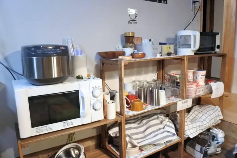 ゲストハウス40010 調理器具