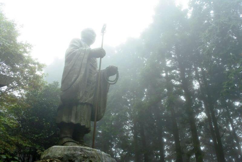 出石寺 弘法大師像