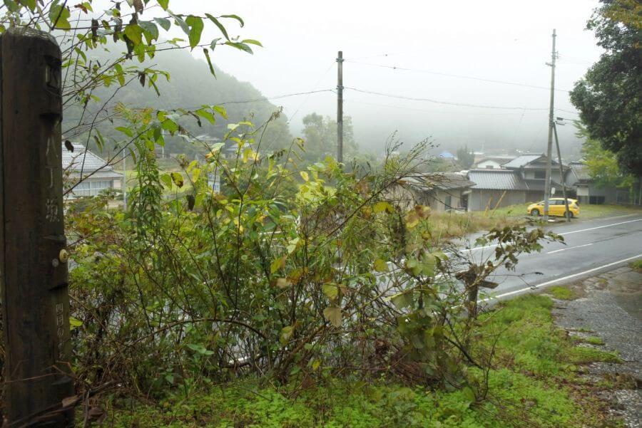 阿讃県境 八丁坂