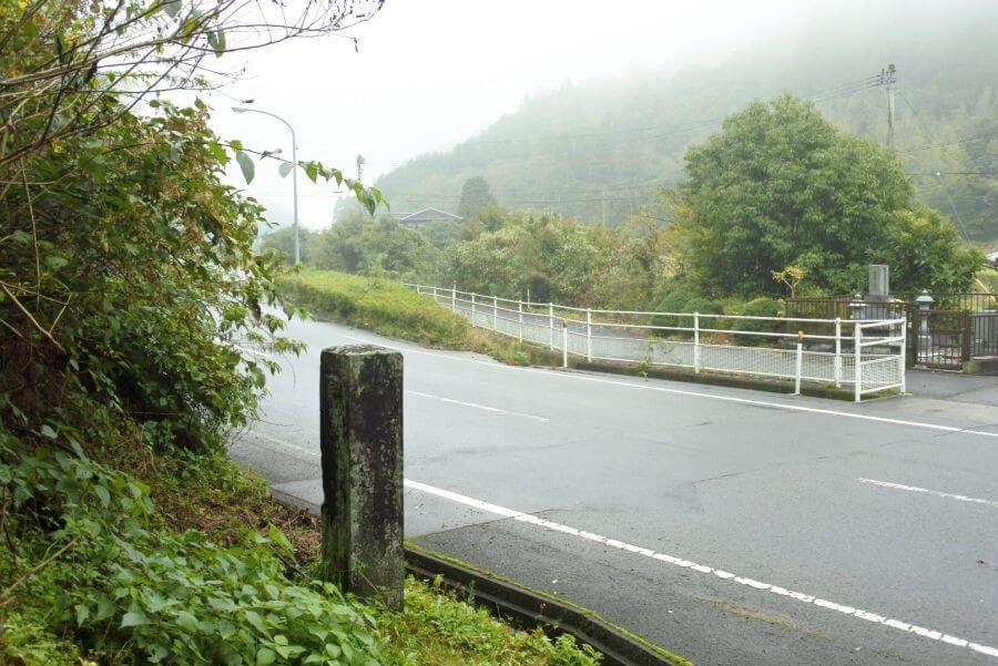 阿讃県境 標石