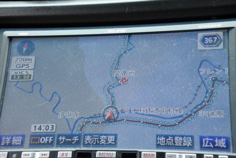 佐賀発電所 カーナビ位置
