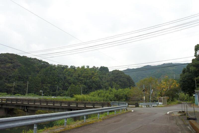 佐賀発電所 国道56号への橋