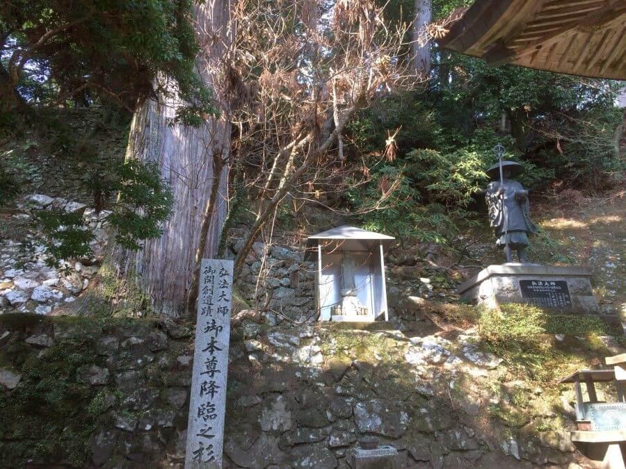鶴林寺 本尊降臨の場所