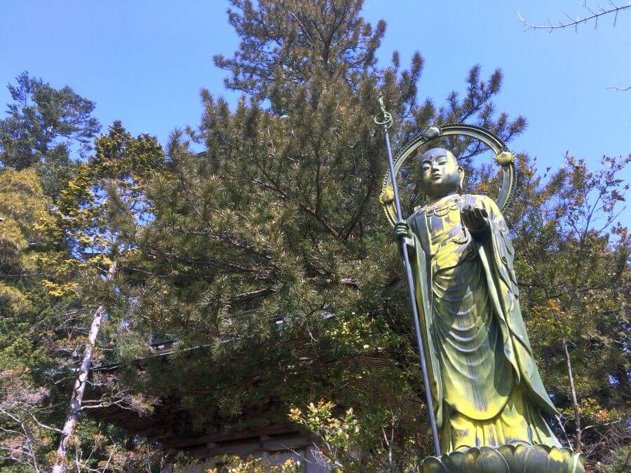 鶴林寺 本尊の写し
