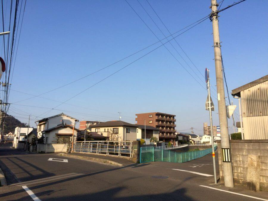 高松市紙町 旧道