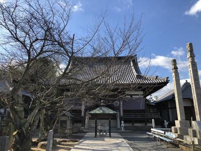 曼荼羅寺 本堂 東向き