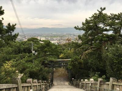 琴弾神社 参道