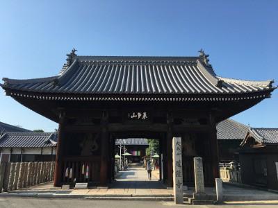 道隆寺 山門
