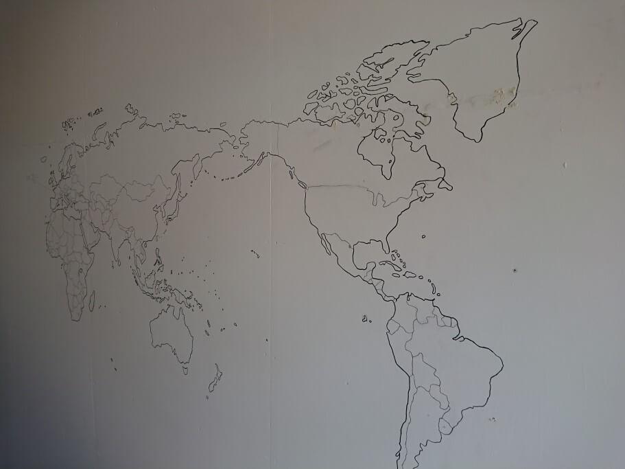 88ALBERGUE 世界地図