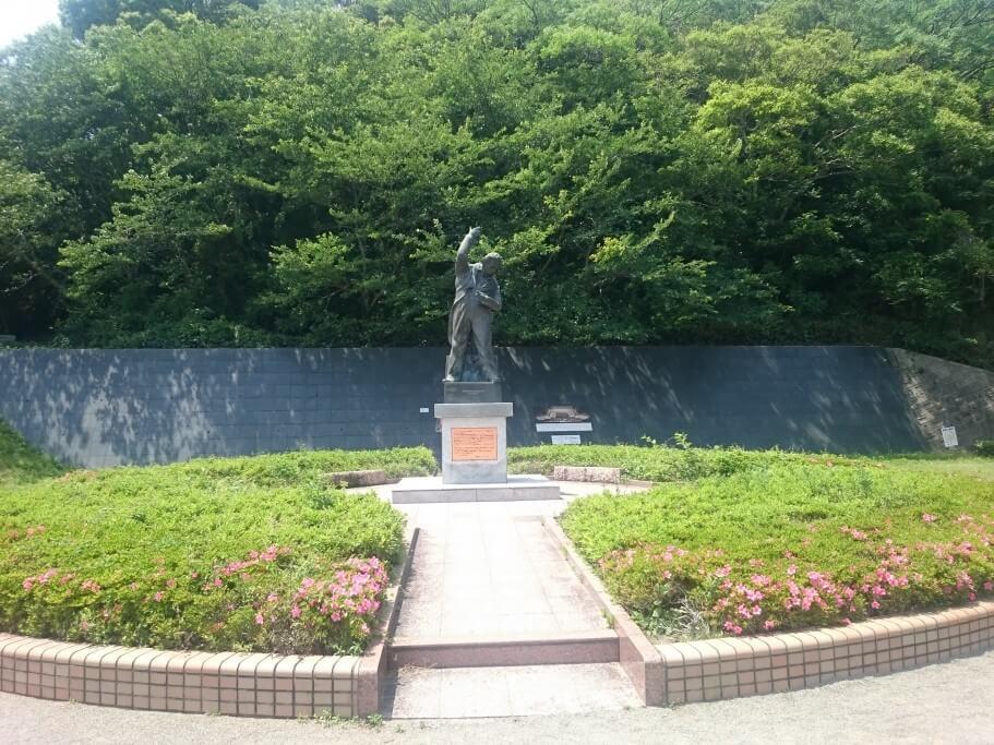道の駅第九の里 ベートーヴェン像