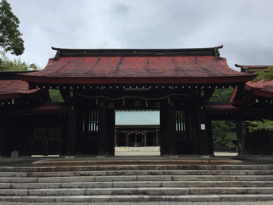 阿波神社 隋神門