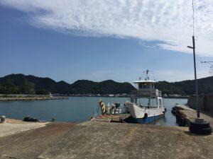 岡崎渡船と小鳴門海峡
