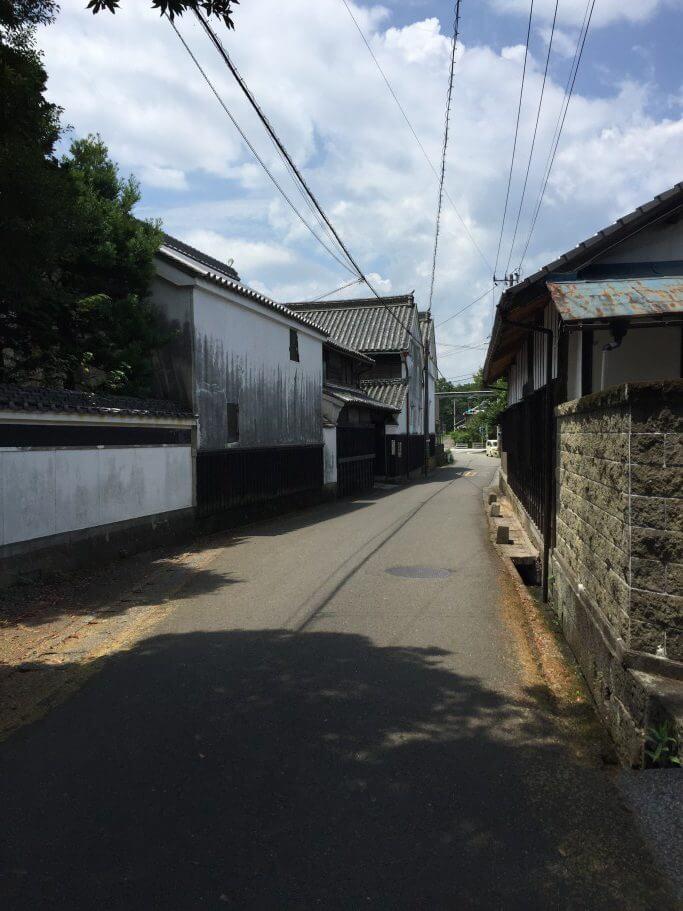 撫養街道 酒造所と醤油蔵の道