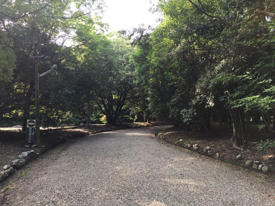 阿波神社 参道