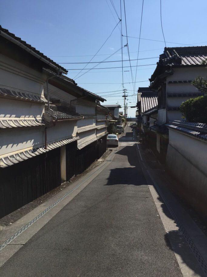 吉良川の町並み(坂)