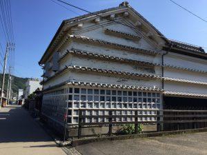 吉良川の町並み(水切り瓦)