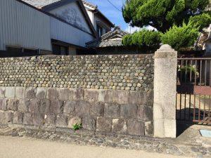 吉良川の町並み(石ぐろ)