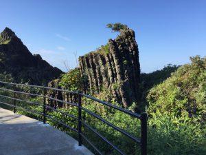 新村遊歩道ジオパーク地層