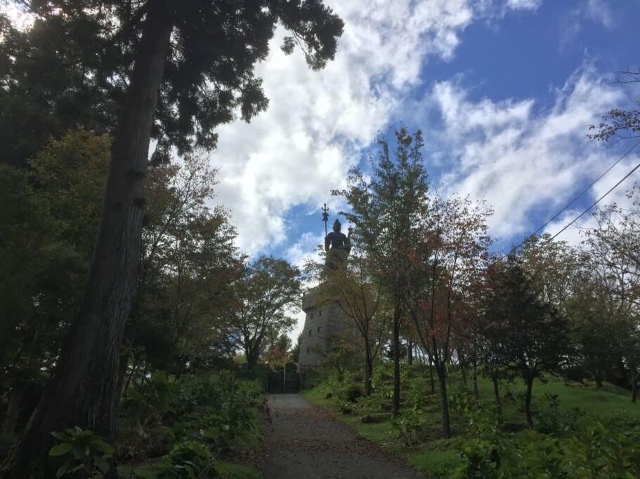 雲辺寺 毘沙門天展望台